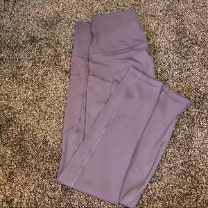 Lavender Leggings with Pockets